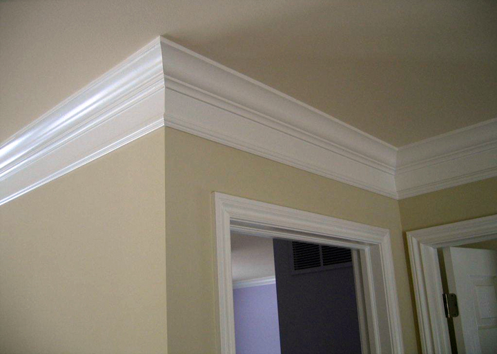Stacked crown molding